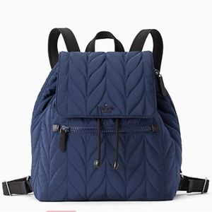 Kate Spade Navy Ellie Large Flap Backpack